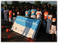Football for Water: new WASH infrastructure